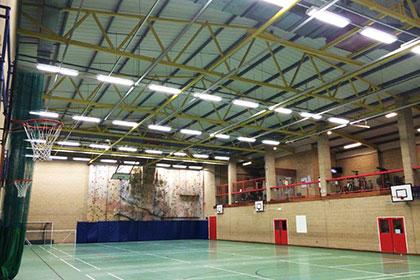 School Works -Warwick School Sports Hall - Image